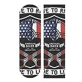 Hoja de cinta de agarre para monopatín, 33 x 9 pulgadas, papel de lija con bandera de Estados Unidos para Rollerboard Longboard, cinta de agarre libre de burbujas para Rollerboard