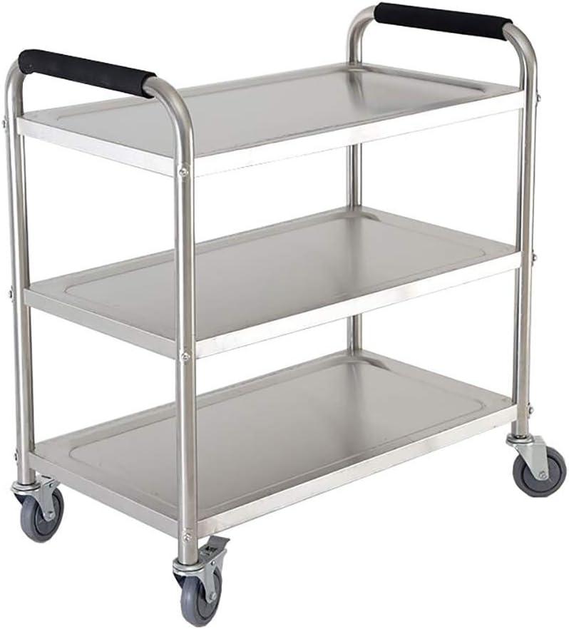 YLCS Kitchen Storage Trolley Bar Se Tea Spasm price Cart Great interest Dining Room