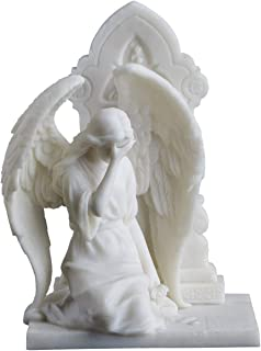 Weeping Angel Covering Face Statue Figurine