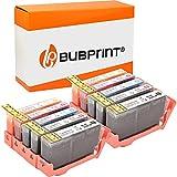 10 Bubprint Cartucce d'inchiostro compatibili per HP 364XL per DeskJet D5460 PhotoSmart 7510 7520 e-All-in-One B8550 C5324 C5380 C6324 C6380 Premium C309g C310a C410 C410b Fax C309a