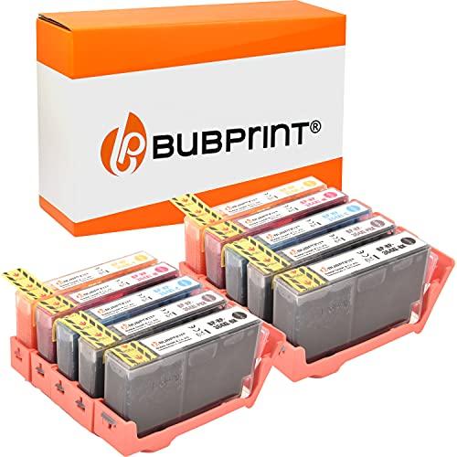 Bubprint Kompatibel Druckerpatronen als Ersatz für HP 364XL für DeskJet D5460 PhotoSmart 7510 7520 e-All-in-One B8550 C5324 C5380 C6324 C6380 Premium C309g C310a C410 C410b Fax C309a 10er-Pack