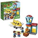 LEGO DUPLOTown Aeroporto, Set di Costruzioni con Aeroplano Giocattolo per Bambini dai 2 ai 5 Anni, 10871