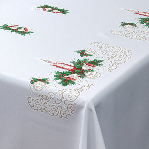 Mantel de Navidad rectangular
