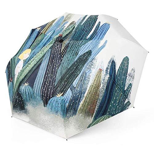 Möbel Liefert Reise-Sonnenschutzschirm Kompakter Regenschirm Regenkleidung (Color : As The Picture, Size : One Size)