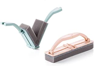 YuKeShop 2 ST Opvouwbare Badkamer Reiniging Spons Borstel, Duurzame Borstel met Handvat Multi-use Scrubber, voor Keuken Ba...