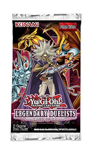 yu-gi-oh Legendary Duelists 7-Rage of Ra Reprint Unlimited Edition, LED7RU