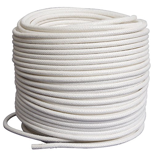 Pepperell Braiding Coiling Core for Basket Art - 1/4 inch - 180 foot roll - White