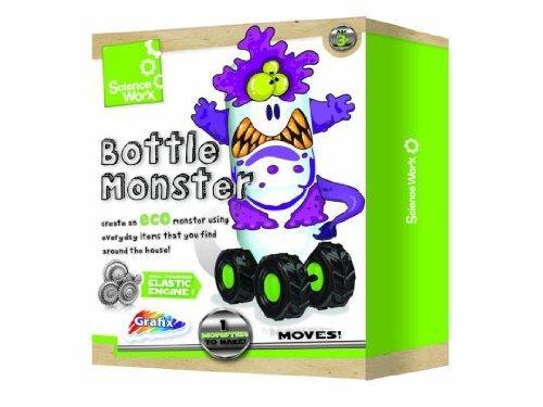 Grafix Science Kit Bouteille Worx Monster - Fabriquez votre Propre Monstre