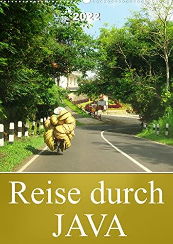 Reise durch Java (Wandkalender 2022...
