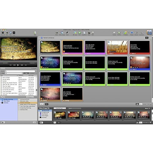 Renewed Vision ProPresenter 6 | Single User License PC Only