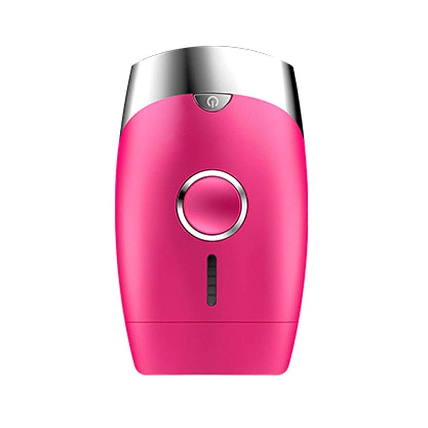 繊維葉っぱ乱れNuanxin ピンク、5スピード調整、インテリジェント家庭用痛みのない凝固点ヘアリムーバー、シングルフラッシュ/連続フラッシュ、サイズ13.9 X 8.3 X 4.8 Cm F30 (Color : Pink)