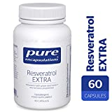 Pure Encapsulations - Resveratrol Extra 100mg - Resveratrol with Grape Seed Extract and Red Wine Polyphenols - 60 Capsules