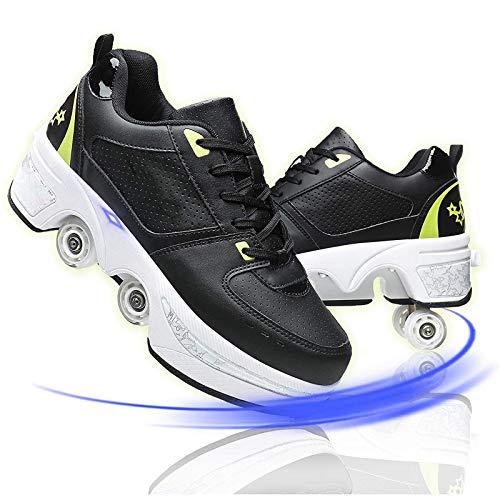 Hmlopx Patinaje En Quad Al Aire Libre Zapatos Deformación...