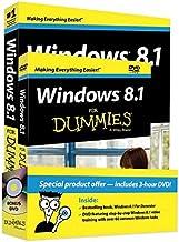 Windows 8.1 for Dummies Book+dvd Bundle
