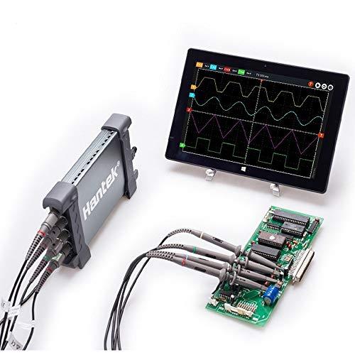テスト機器PCベースのUSB2.0デジタルストレージオシロスコープ 4CH 100MHz 1GSa/s 8bits 64K