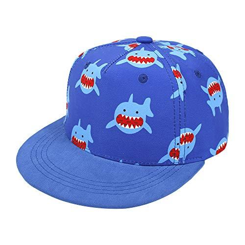 Idgreatim baseballmütze Junge Sommer Sonnenhut witzige hüte Kinder Hai Hüte Geschenke Hut Fotoshooting Hut für Kinder von 2-4 Jahren
