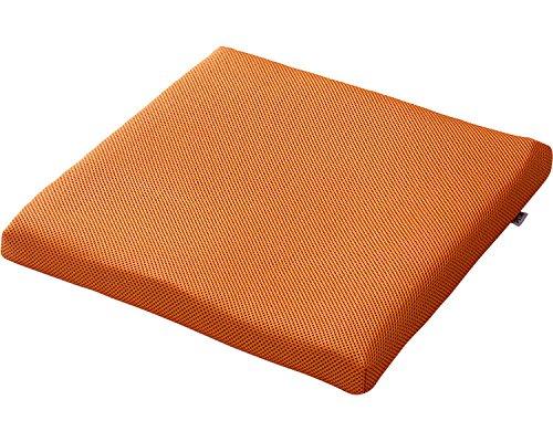 ピタ・シートクッション55 オレンジ PT002C (日本ジェル) (車いす用クッション)