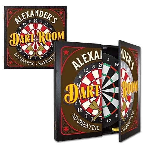 Thousand Oaks Barrel Personalized Dart board Cabinet Review