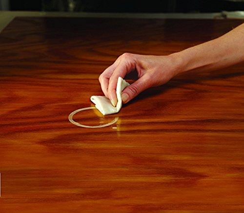 heat stain on wood