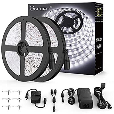 Onfrou 66 ft Dimmable LED Strip Light Kit