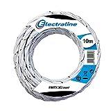 Electraline 16811, Cable Rivestido en textil FRRTX, Sección 3G1 mm, 10 Mt,...