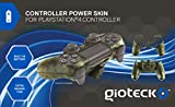 Gioteck Controller Skin Plus Camo with Built-in Battery - PlayStation 4
