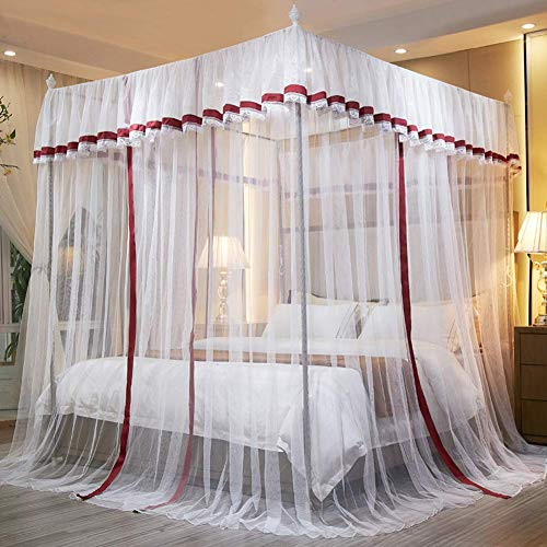 Mosquito dormitorios casa hilo red carpa 360 grados