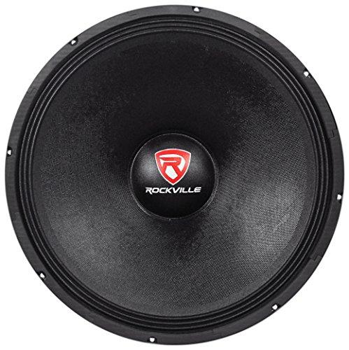 Rockville RVW1800P8 1800w 18' Raw DJ Subwoofer 8 Ohm Sub Woofer 107OZ Magnet