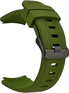 iBazal 22 mm klockarmband kompatibel med Samsung Galaxy 46 mm, Gear S3 Frontier Classic, Huawei Watch 2 Classic/GT/Honor M...