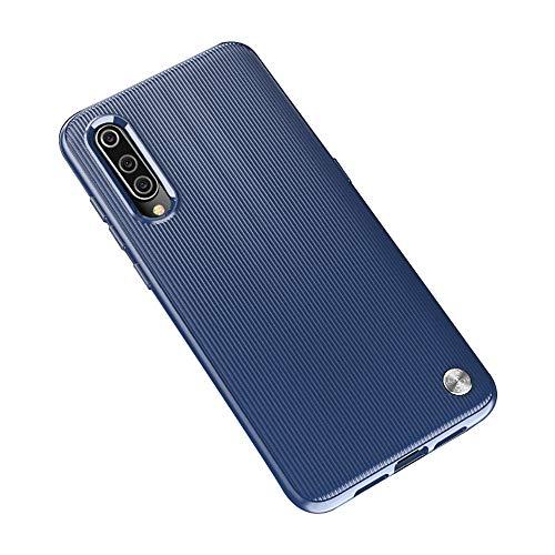 Funda Xiaomi Mi 9 Smartphones, Carcasa Silicona Suave, Anti-rasguños Protección Teléfono Case Simple Fácil de Instalar para Xiaomi Mi CC9 / Mi CC9e (Xiaomi Mi 9, Azul)