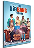 Instabuy Poster - Cartl - The Big Bang Theory - Season 12 A4 30x21