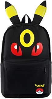 Eeveelution Eevee Umbreon Noctali Pokemon Backpack Anime
