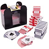 Brybelly Game Night Essentials - 6 Deck Jumbo Battery-Operated...