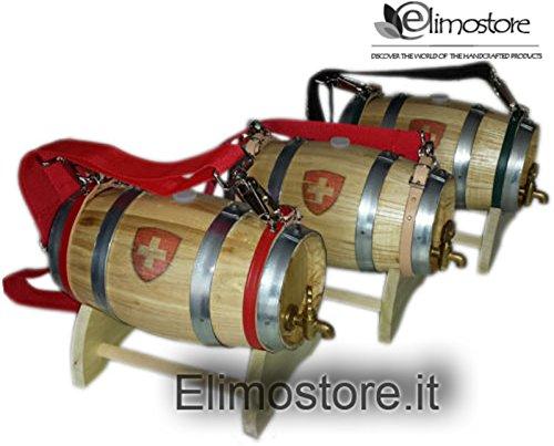 Fass Wein San Bernardo 1Liter Wasserhahn Messing