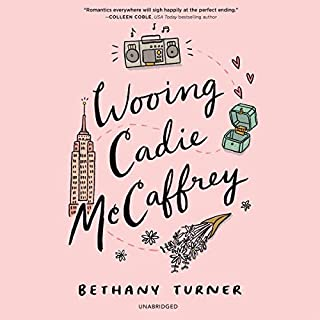 Wooing Cadie McCaffrey                   Written by:                                                                                                                                 Bethany Turner                               Narrated by:                                                                                                                                 Suzanne Elise Freeman                      Length: 9 hrs and 1 min     Not rated yet     Overall 0.0