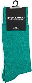 Men's Contemporary Luxury Solid Crew Dress Socks