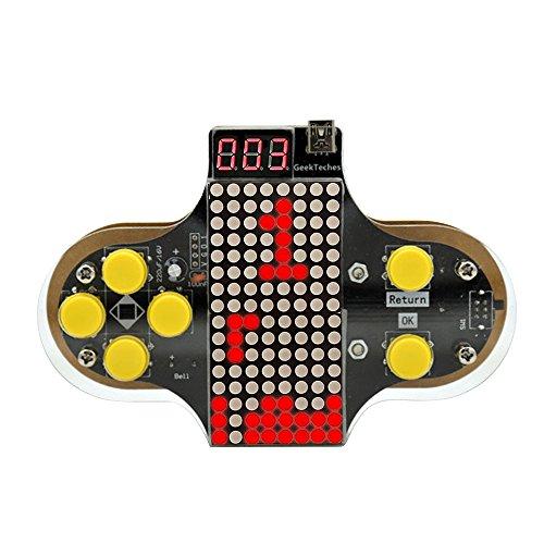 KKmoon Juego de consola de juego de bricolaje electrónico mejorado Kit de práctica de...