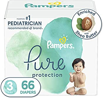 66-Count Pampers Pure Protection Disposable Baby Diapers