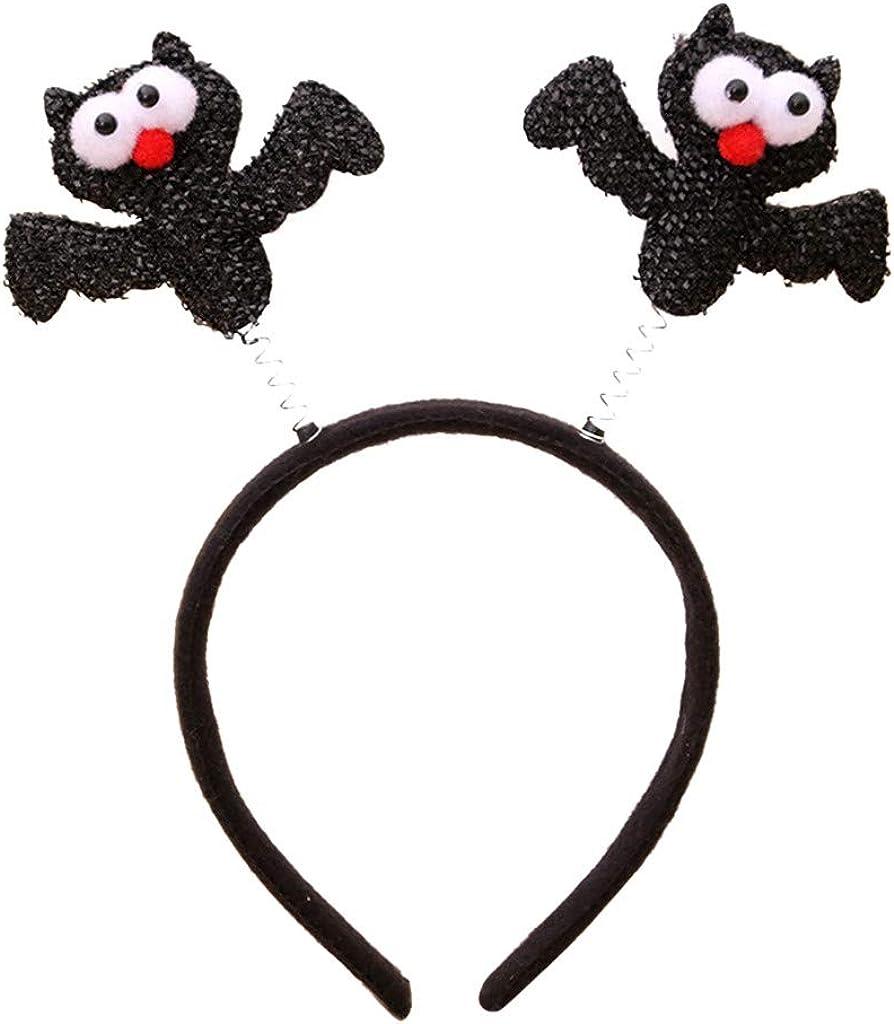 Sayhi Christmas Halloween Headband Decoration Xmas Child Gift Hairband Party Supplies Girls Hair Accessories