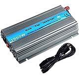 EpRec 1000W on Grid Tie Inverter MPPT Stackable Pure Sine Wave DC10.8-30V to AC90V-140V Output for 12V Solar Panel