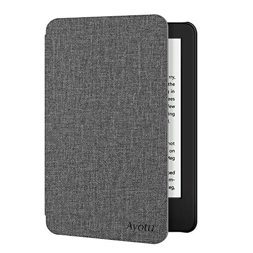 Ayotu Case for All-New Kindle 10th Gen 2019 Release - Durable Cover with Auto Wake Sleep fits Amazon All-New Kindle 2019 (Will not fit Kindle Paperwhite or Kindle Oasis), Grey