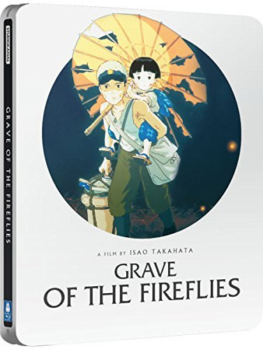 Grave Of The Fireflies Limited Edition Steelbook / Import / Blu Ray