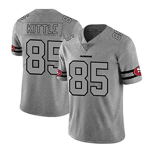 San Francisco 49ers George Kittle # 85 Rugby-Trikot Für Männer kann American Football Jersey T-Shirt Spiel Training Shirt EIN Geschenk Sein S-3xl-L