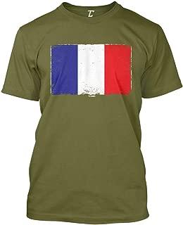 France Flag - French Heritage Pride Men's T-Shirt