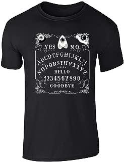 Ouija Board Seance Spirit Board Design Costume Graphic Tee T-Shirt for Men