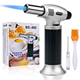 Culinary Blow Torch, Inpher Chef Cooking Torch Lighter, Butane...
