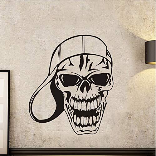 Tianpengyuanshuai Halloween-baseball-muts, stickers voor de dood naam Demon auto kunst wanddecoratie