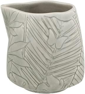Bordallo Pinheiro 65019056 Tropical Pattern Milk Jug, Grey