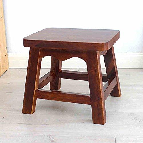 DEO tafel Kleine kruk Houten kruk Peuter Houten Stoel Kinderen Houten Krukken 30 * 23 * 27CM Duurzaam