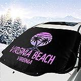 Tridge Auto Windschutzscheibe Schneedecke Virginia Beach Frost Guard Protector
